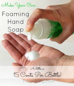DIY Foaming Soap Recipe