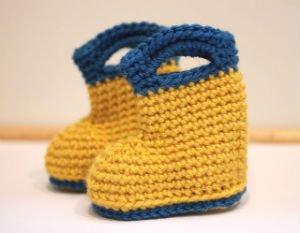 Free Crochet Patterns Rain Boots