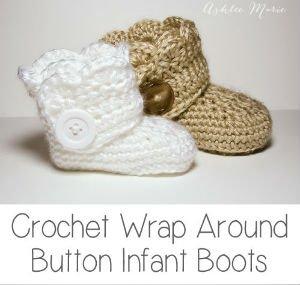 Baby Booties Free Crochet Pattern