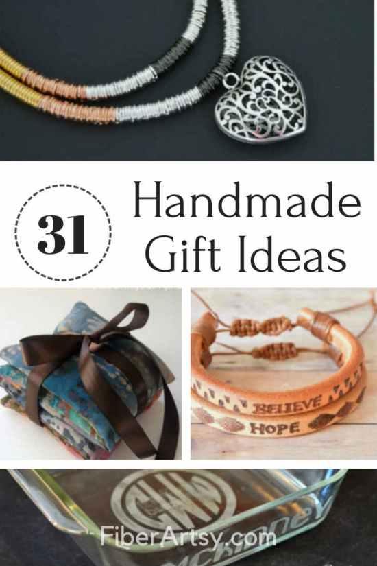 31 DIY Gift Ideas for Christmas or Birthdays