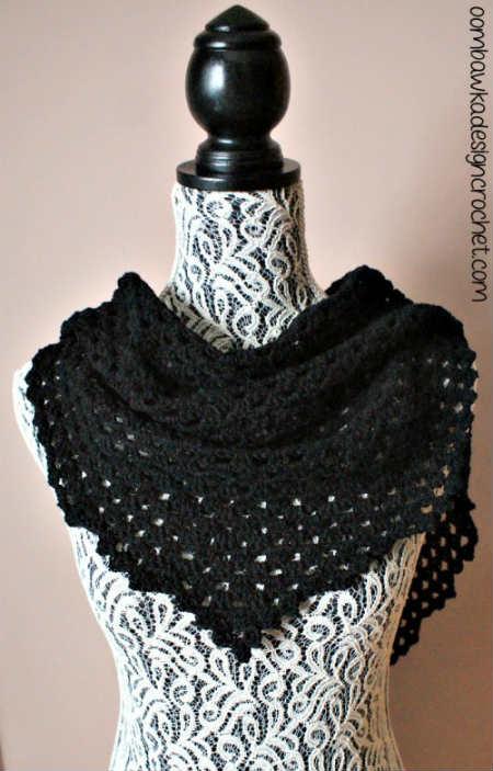 Comfort Shawl Pattern for Crochet