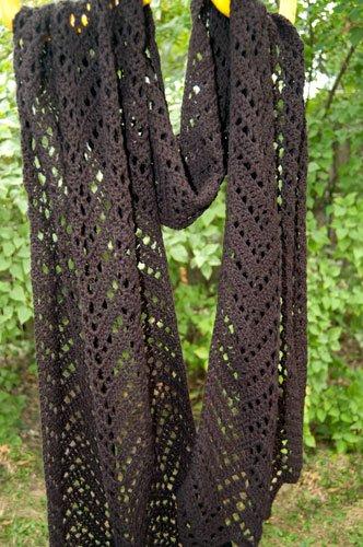 13 Knit Crochet Shawl Patterns Fiberartsy