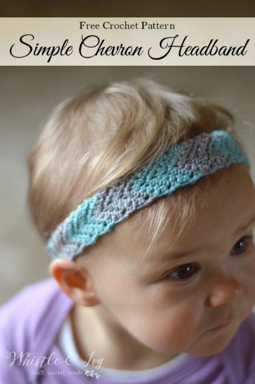 Baby Headband Free Crochet Pattern