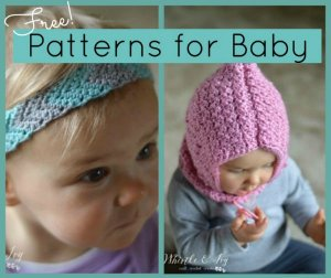 Free Crochet Patterns for Baby (Knitting, too)