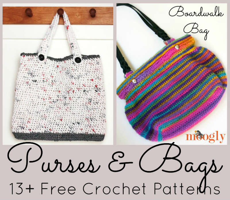 Free Crochet Patterns For Purses And Bags FiberArtsy Magnificent Free Purse Patterns