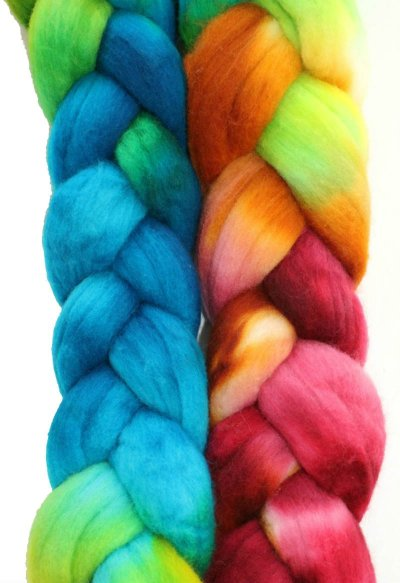 Kettle Dyed Yarn and Roving