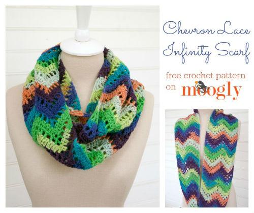 17 Free Crochet Infinity Scarf Patterns Fiberartsy