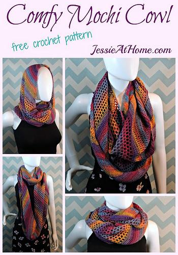 17 Free Infinity Scarf Crochet Patterns Fiberartsy
