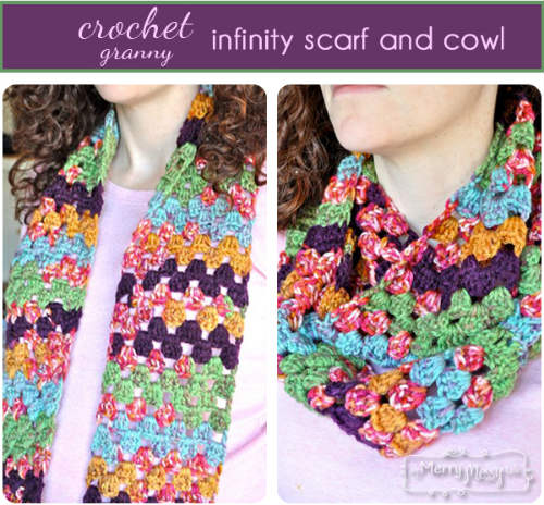 Free Infinity Scarf and Cowl