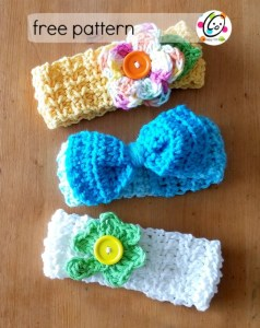 Baby Lucy Crochet Headbands