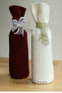 DIY Wine Bottle Sweater