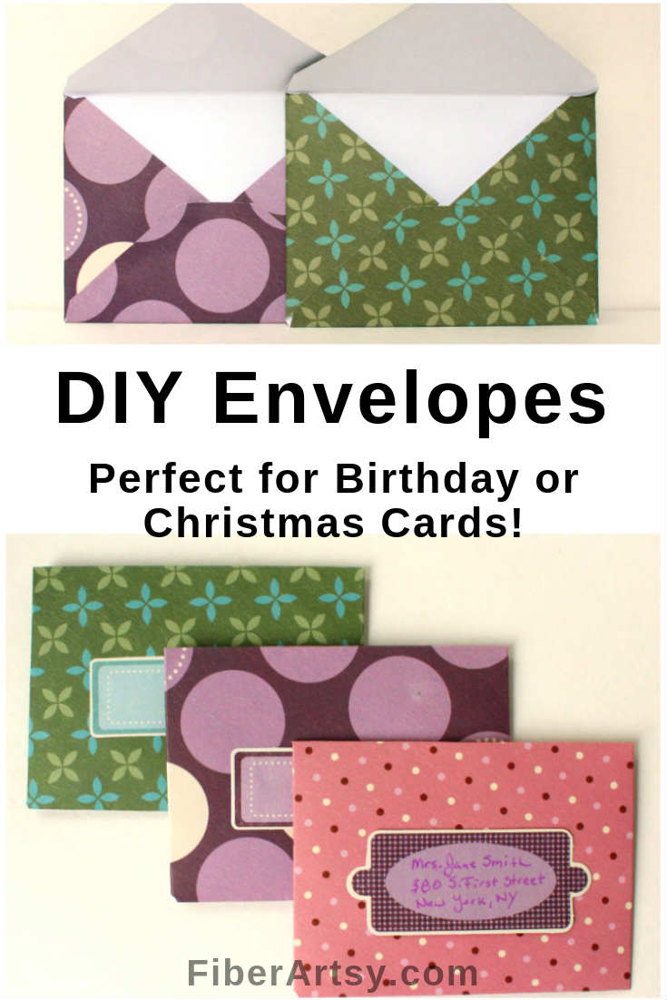 How to make your own DIY Envelopes