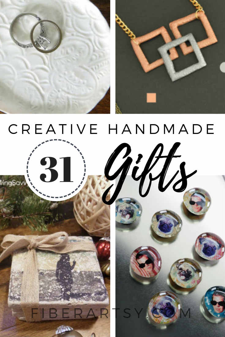 31 Creative Cool DIY Gift Ideas for Homemade Birthdays or Christmas Presents