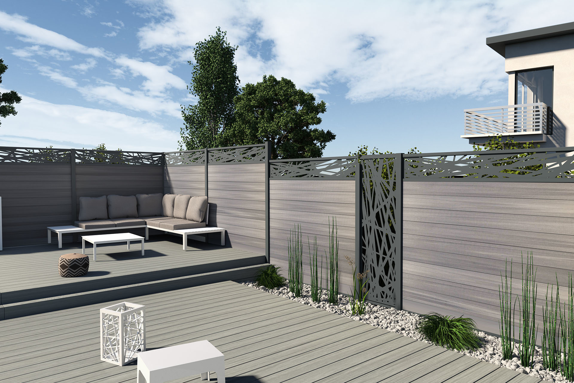 Boston Composite Fencing Boards For Claustra And Fence Fiberdeck