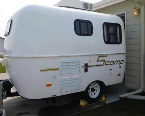 rv kitchen sink small design sold - 2013 13' scamp deluxe trailer $14599 moses lake ...