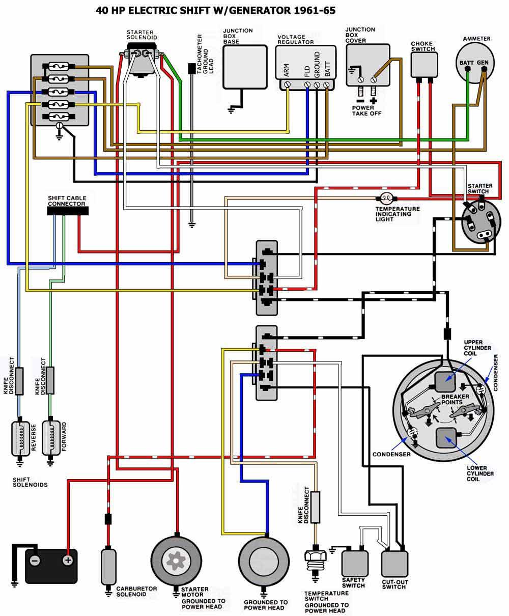 hight resolution of fiberglassics 59 johnson 50hp alternator fiberglassics forums motorcraft alternator wiring diagram evenrude wiring diagram alternator
