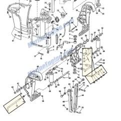 1977 Evinrude 115 Wiring Diagram Powered Subwoofer Vintage Mercruiser Trim Gauge Solenoid ...