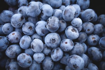 blueberries are high in fiber