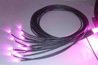 Fiber Optic Lighting Cable | End glow cable with jacket ...