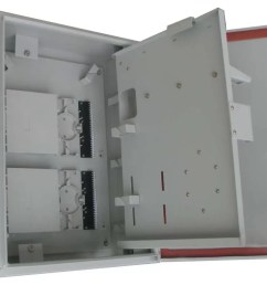 wall and pole mountable 32port ftth catv outdoor distribution box for 1 32 plc splitter [ 1120 x 800 Pixel ]