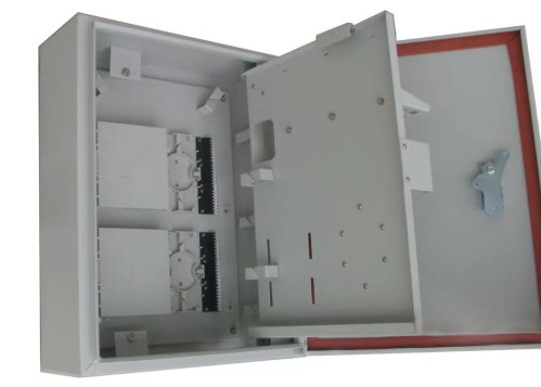 small resolution of wall and pole mountable 32port ftth catv outdoor distribution box for 1 32 plc splitter
