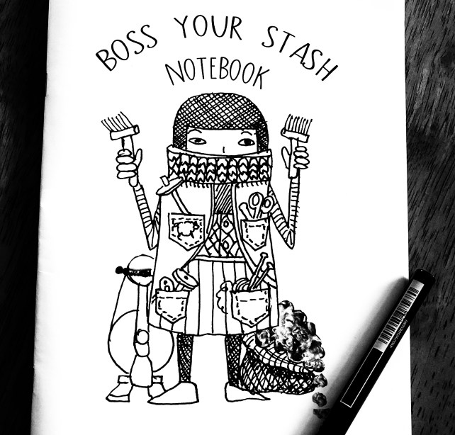 Boss your Stash Notebook