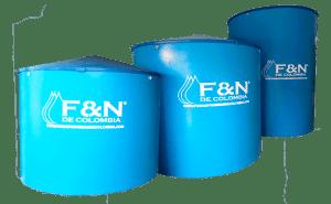 vendemos tanques de diferentes tamaños en fibra de vidrio