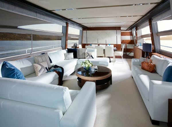 Fibre Flooring Princess Yachts