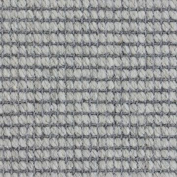 Wool Flatweave Classic Small Boucle Pearl