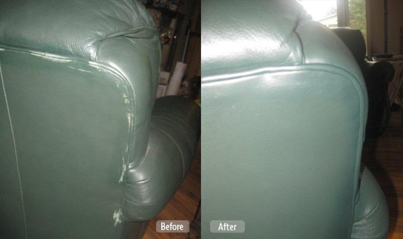 LEATHER PLASTIC VINYL FABRIC  UPHOLSTERY REPAIR PHOTOS