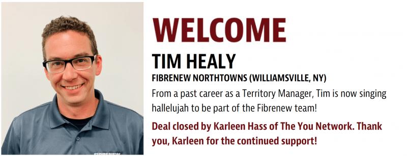 Tim Healy - Fibrenew Northtownss