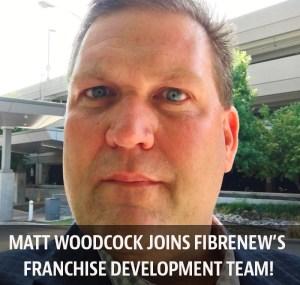 Matt Woodcock Fibrenew's Franchise Developer