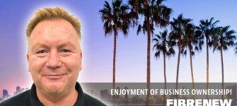 Dave Sanders Having Fun With Fibrenew Coastal San Diego