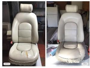 interior seat restored