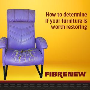 damaged furniture