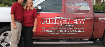 Playing off each other's strengths, this couple teams up as Fibrenew franchisees
