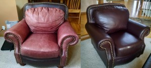 Leather Furniture Re-Dye Restore Fibrenew