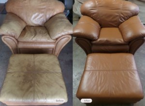 Leather Furniture Restored by Fibrenew Upstate