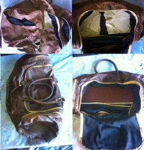Leather Bag Restoration by Fibrenew Tampa
