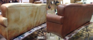 Leather Furniture Redye By Fibrenew