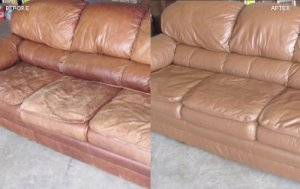 Edmonton Leather Furniture Restoration Service