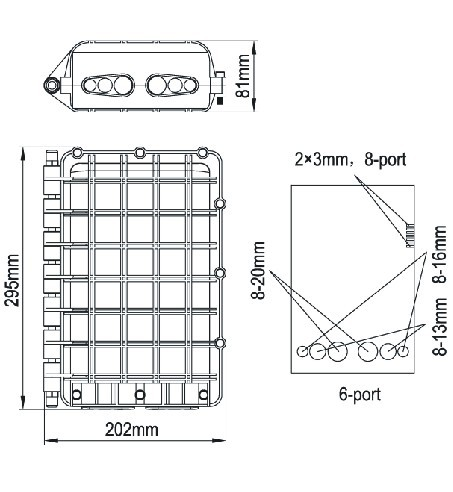 Outdoor Cable Splice Box Cable Splicing Wiring Diagram