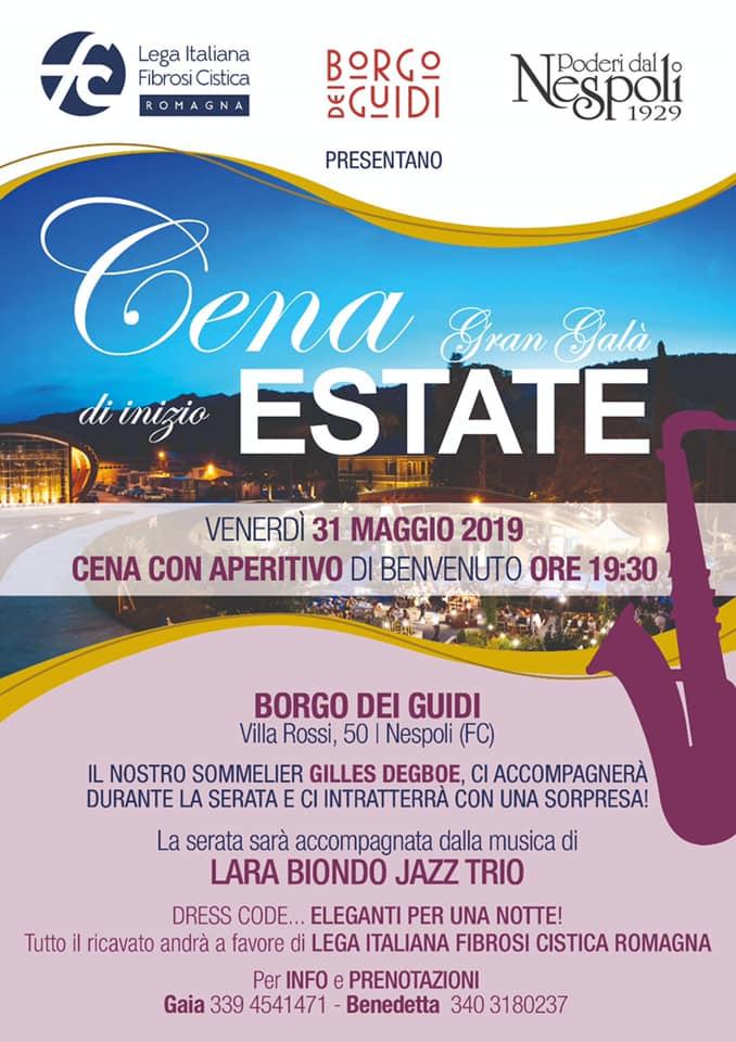 Gran Gala Di Inizio Estate A Sostegno Di Lifc Romagna Onlus Lifc Lega Italiana Fibrosi Cistica Onlus