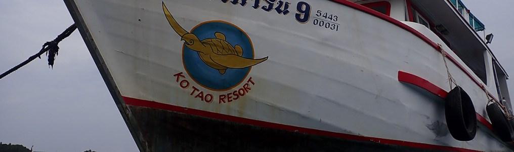 ダイビングボートのキャプテン一家は船で暮らしている