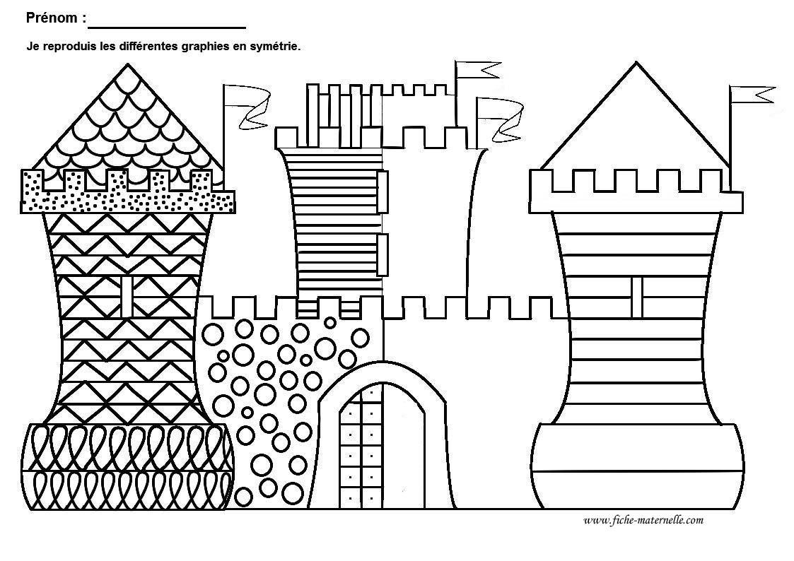 Graphisme Grande Section et Moyenne Section : graphie de