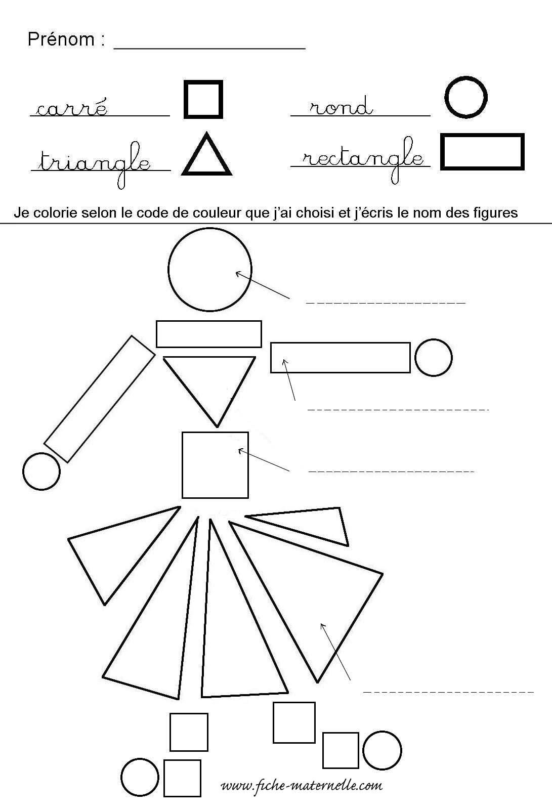 Reconnaître les formes géométriques en maternelle