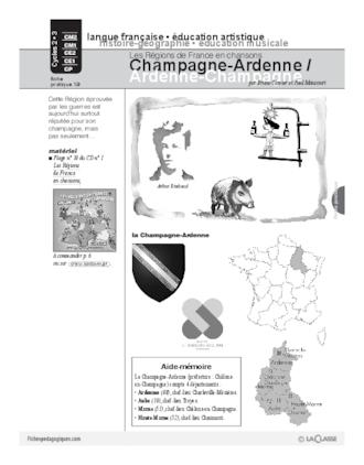 Les régions de France en chansons / Champagne-Ardenne