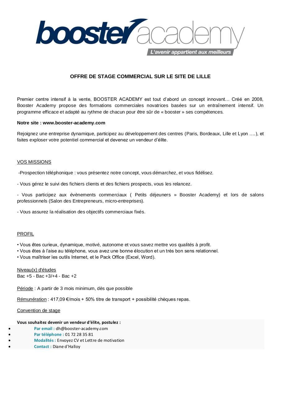 cv lettre de motivation pdf