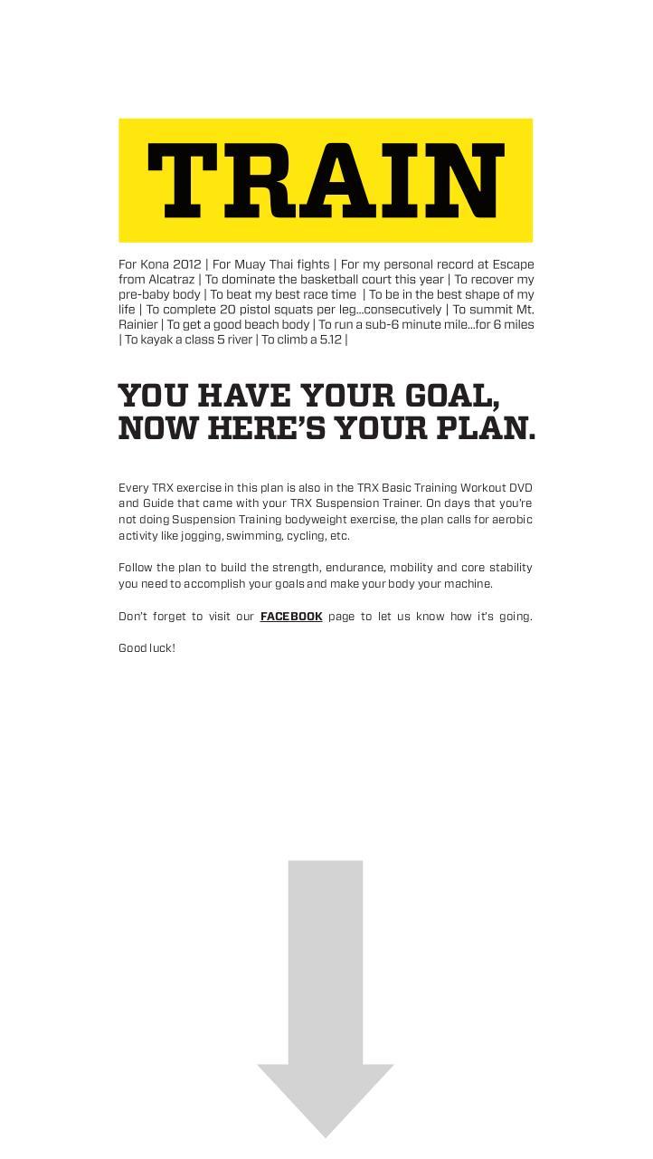 Training pdf basic trx