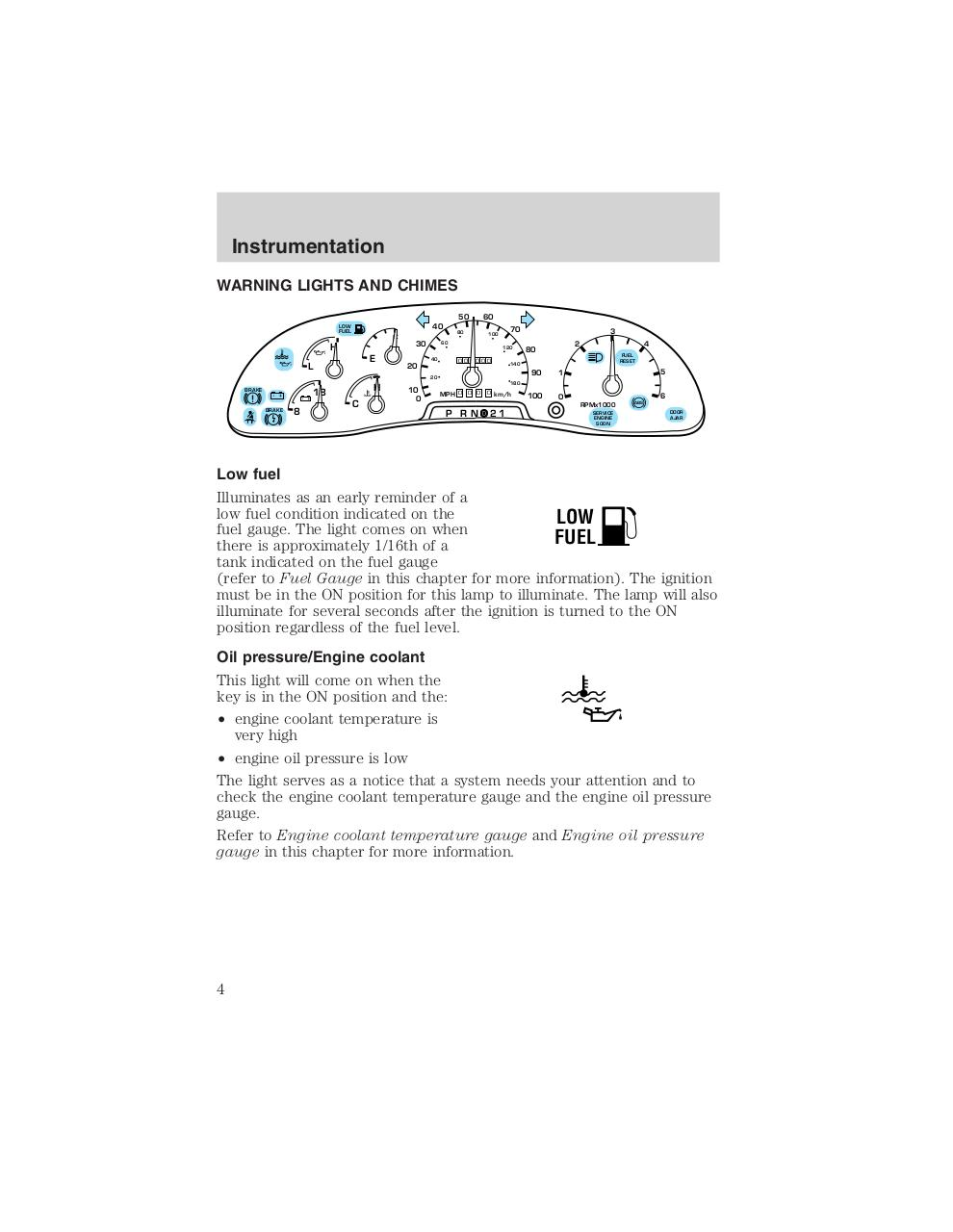 hight resolution of ford f53 1999 chassis owner manual pdf page 4 96